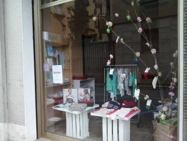 negozio abbigliamento biologico bambini Cremona